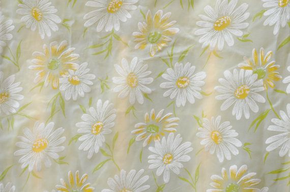 Vintage Daisy Shower Curtain Vintage Bath Shower Curtain Sizes