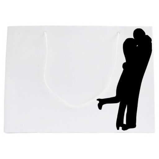 I am Into You Couple Kissing valentine's day Large Gift Bag