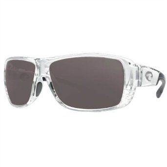 Costa Del Mar Double Haul Sunglasses in CrystalGrey/580P sz:One Size Costa Del Mar. $169.00