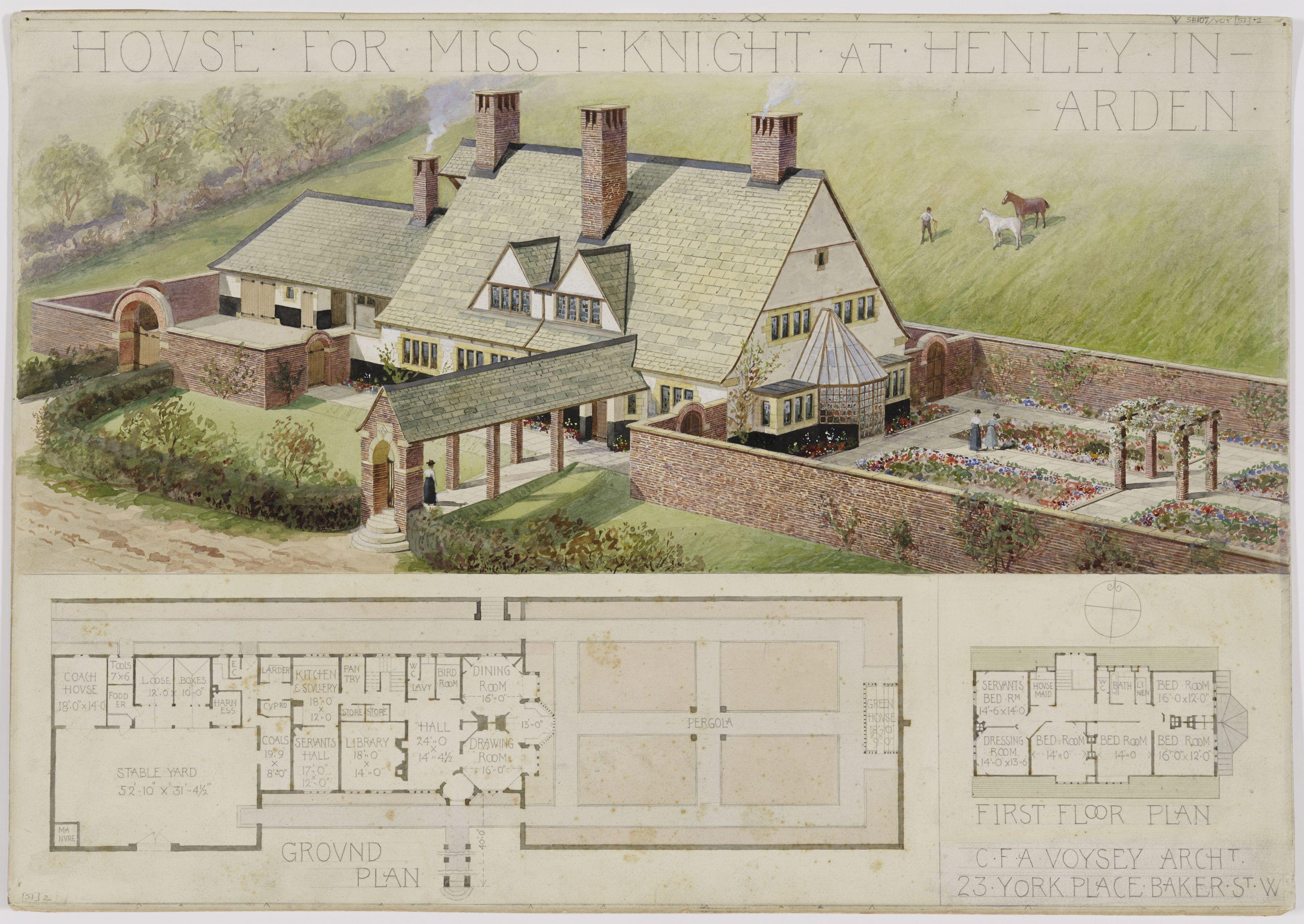 brooke end voysey google search casas de campo pinterest house