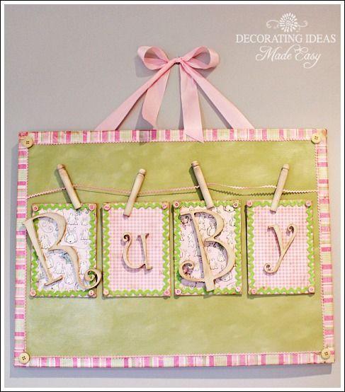 lindo para el cuarto del bebe | scrap | Pinterest | Scrap and Babies