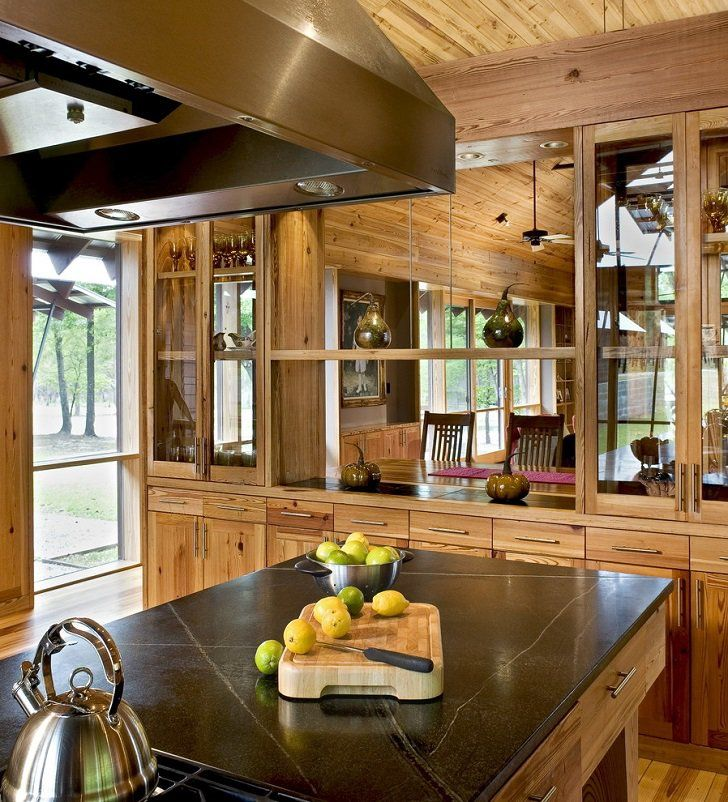 See Through Kitchen Cabinets Kitchen Remodel Ideas Rustic Kitchen Mesmerizing Kitchen Interior Design Ideas Decorating Design