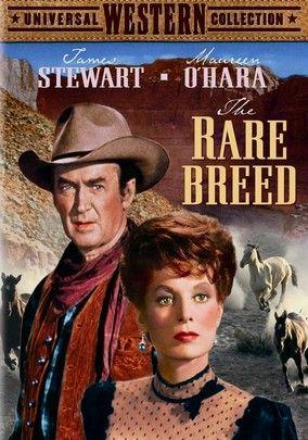 The rare breed James Stewart Maureen O/'hara movie poster print