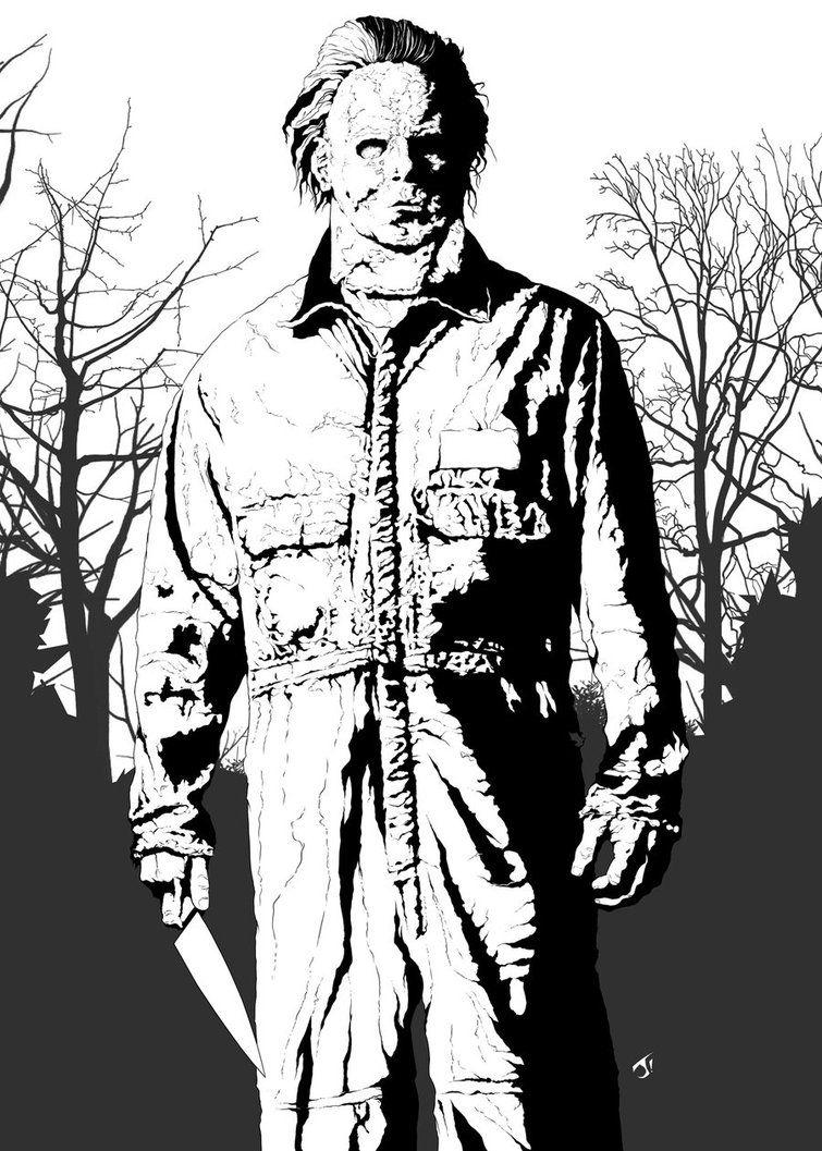 Michael Myers by jayodjick on deviantART  Michael myers