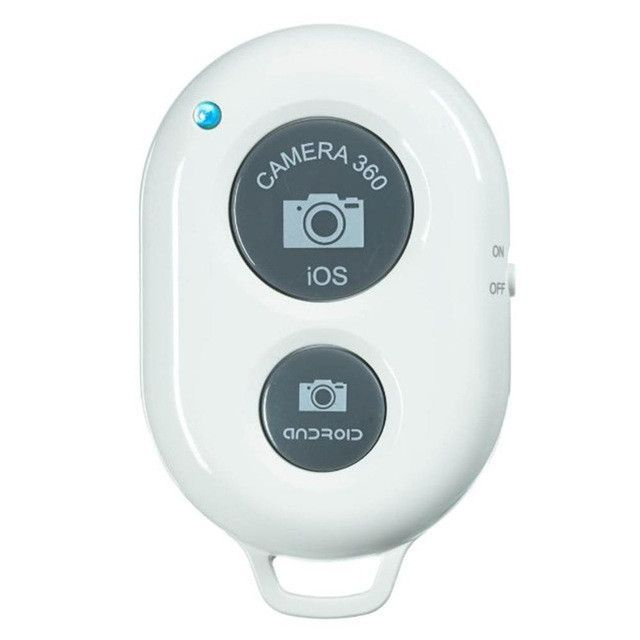 Remote Control Wireless Selfie Stick Shutter Controller and Self-Timer for Camera Phone.