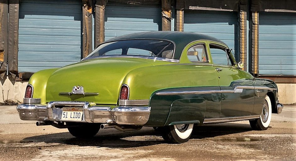 1951 Lincoln Lido Coupe. Original George Barris custom built and owned by George's long time painter Roy ''Tubs'' Johnson.
