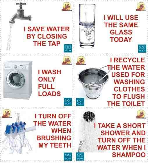 Do not waste water top 10 ways to save water water for Top 10 ways to conserve water