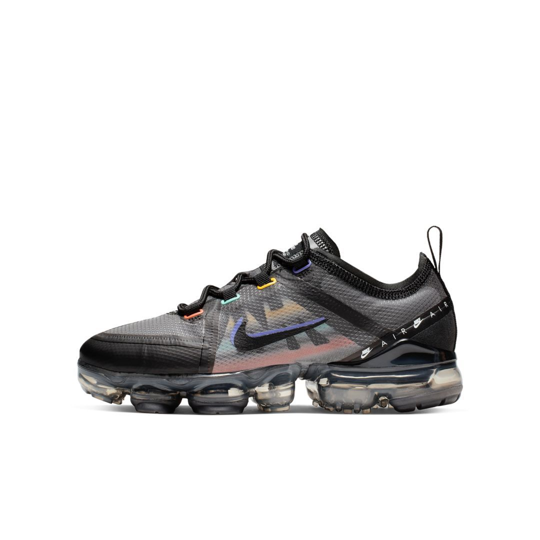 Nike Air VaporMax 2019 Game Change Big Kids' Shoe (Black