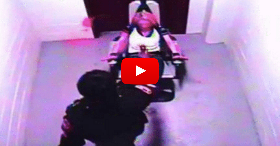 Cops Caught On Video Torturing Woman Locked In Restraint