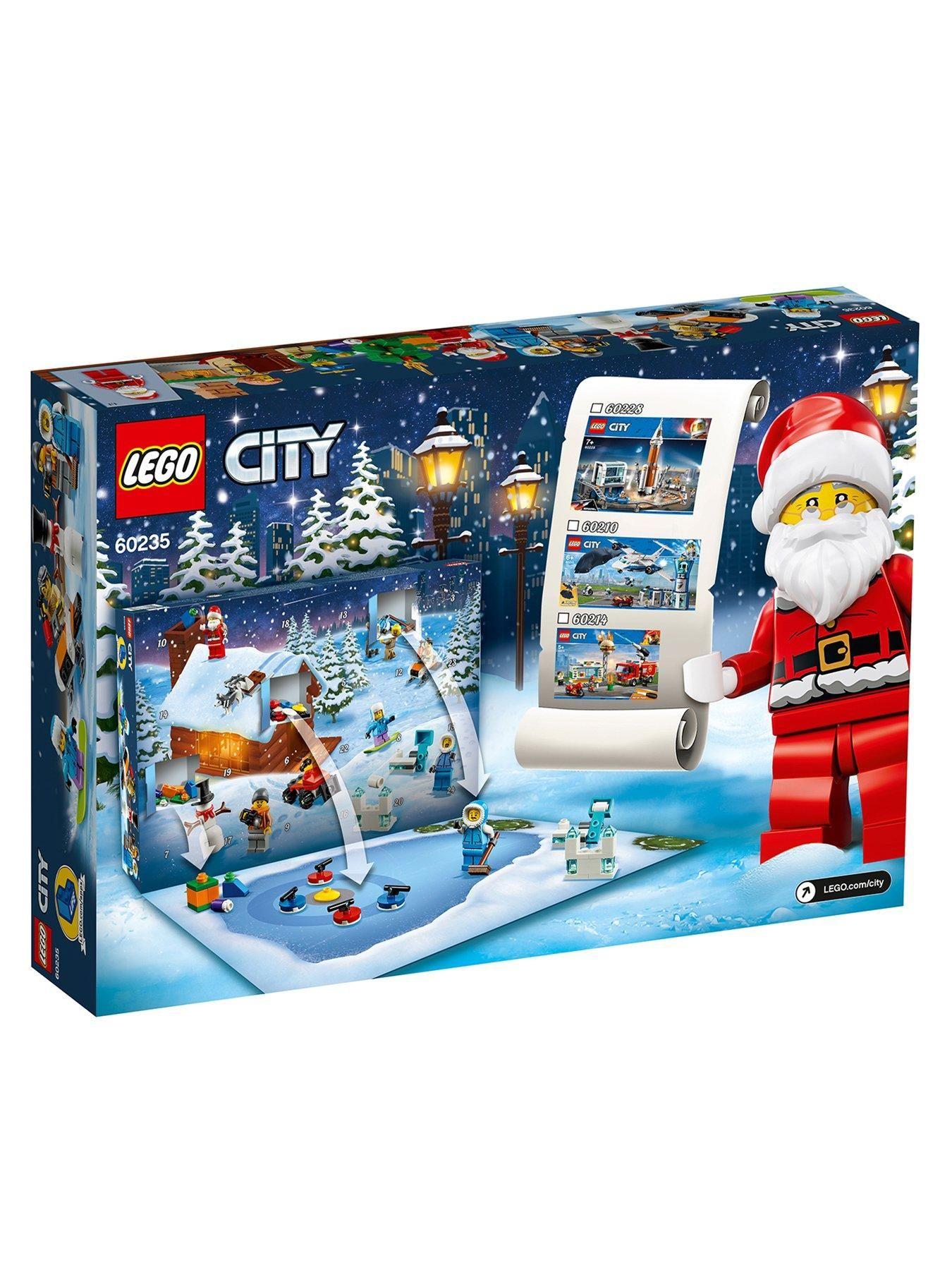 Lego City 60235 Advent Calendar 2019 With Father Christmas