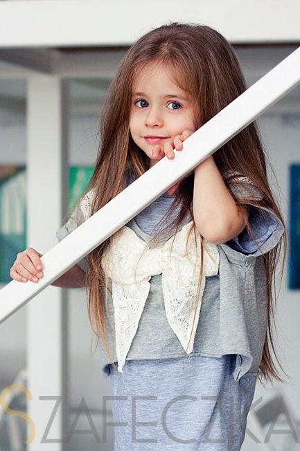 Szaro jeszcze raz.  #kids #fashion #girl