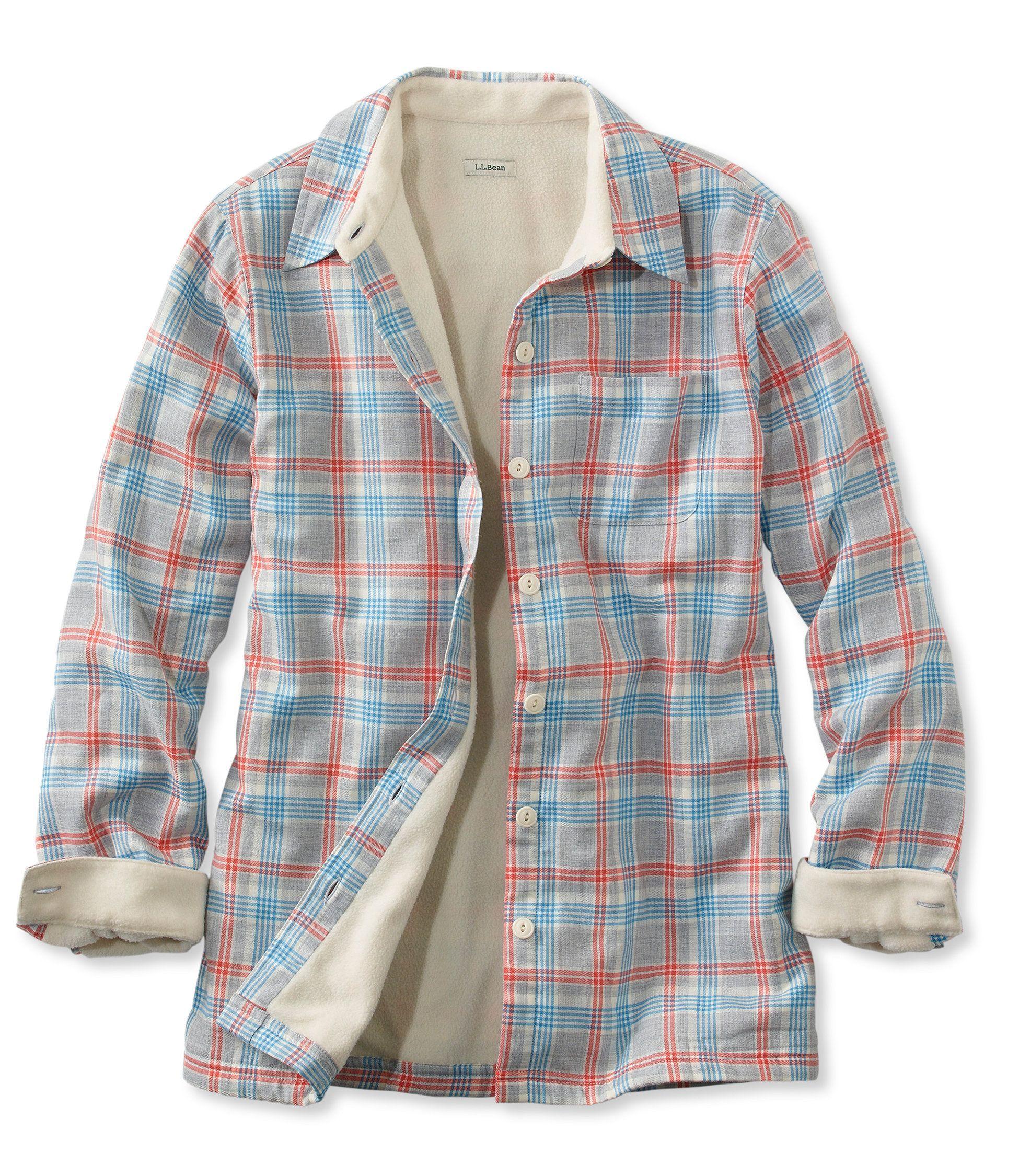 096d614239 Women s Fleece-Lined Flannel Shirt
