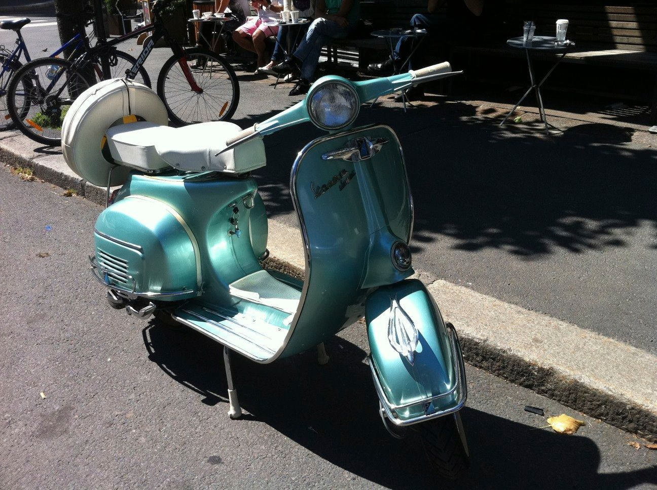 My vespa 150cc - 1958 mod. Great for downtown Oslo :-)