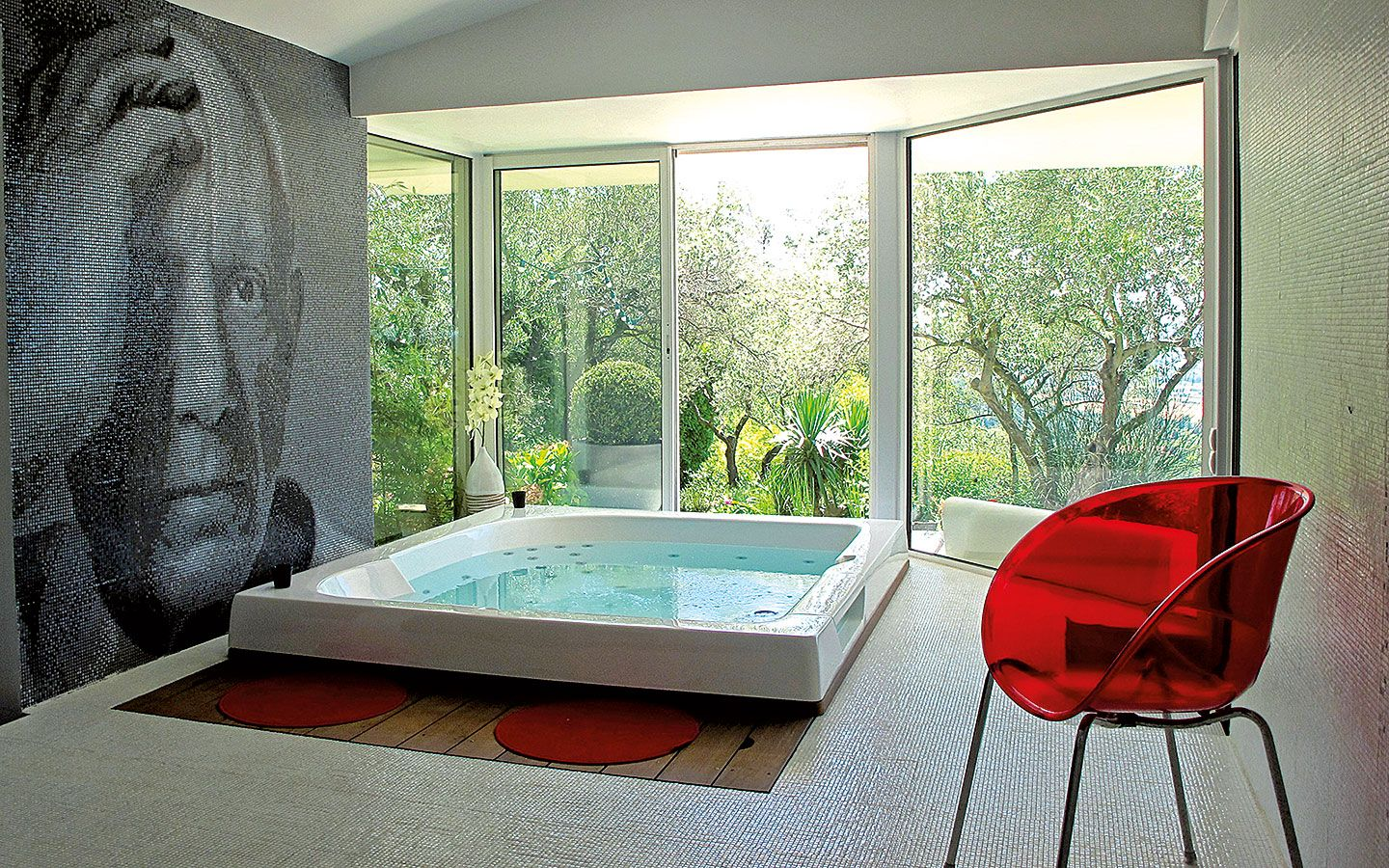 La Piscine Echo Architectural Spa Interieur Piscine Maison