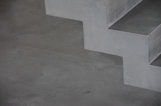 Beton Falttreppe Beton Cire Beschichtung Sichtbetontreppe H A U S