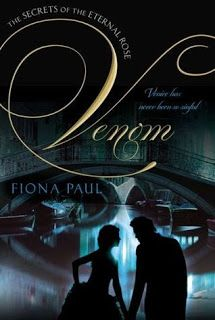 My review of Fiona Paul's VENOM, from Philomel.  PLUS, I got to interview the author!
