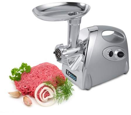 home electric fleischwolf fantastic fan wiring diagram yosoo 800w meat grinder sausage stuffer stainless steel mincer maker w 3 blades silver