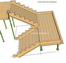 Resultado de imagen para estructura de una rampa concreto for Planos de escaleras de concreto armado