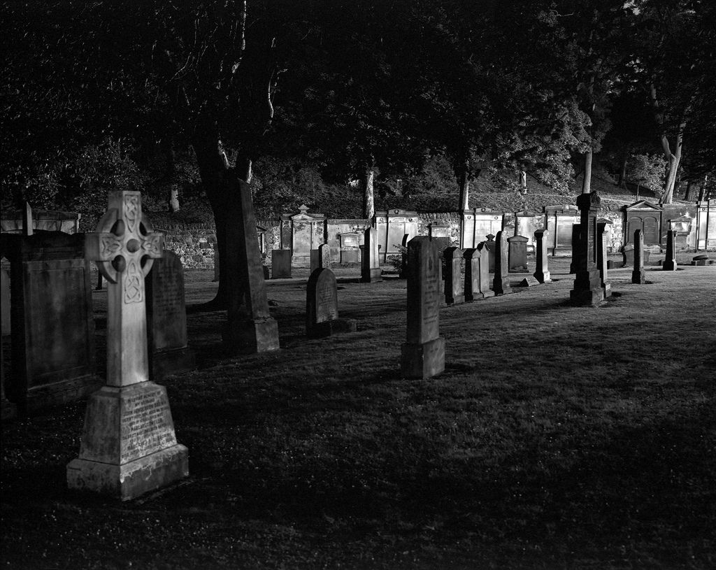 graveyards at night - Google Search   Blue Aesthetic ...