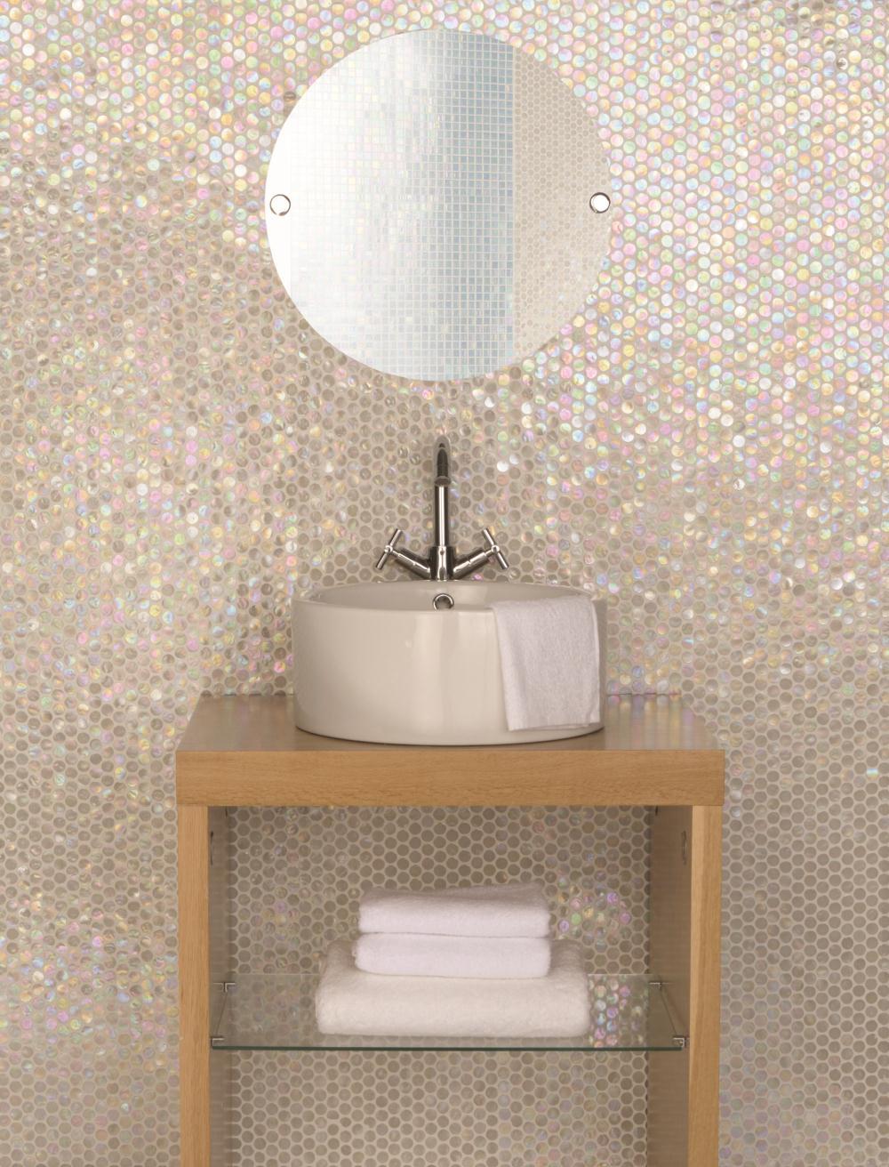 White lady irridescent shapes | AJD - Tile Inspiration | Pinterest ...
