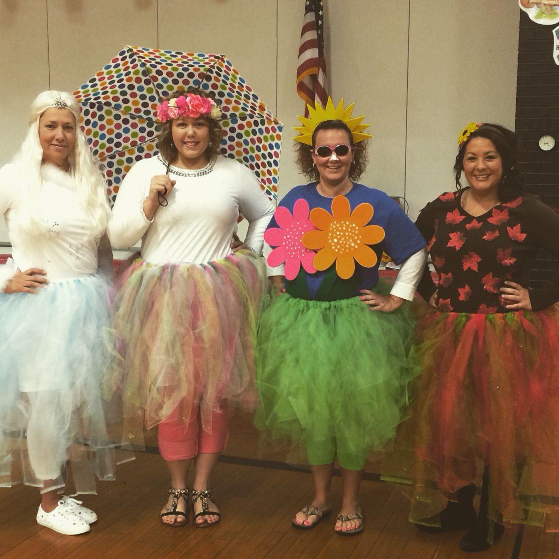The Four Seasons Halloween Costume