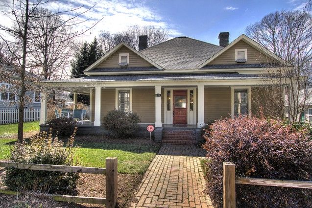 Historic mill house bungalow circa 1905 in Charlotte's walkable NoDa.