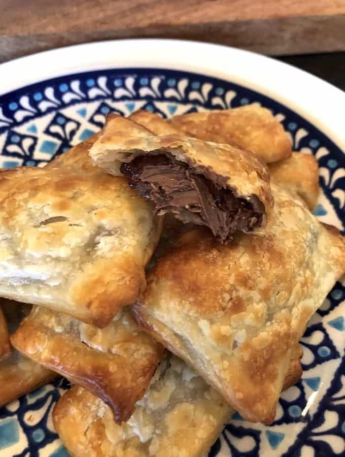 2 Ingredient Nutella Puff Pastries Recipe Nutella Puff Pastry