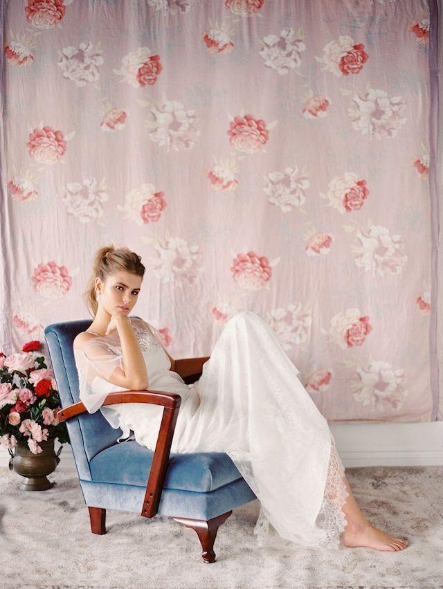 Bonito Vestido De Novia Jennifer Gifford Ideas Ornamento Elaboración ...