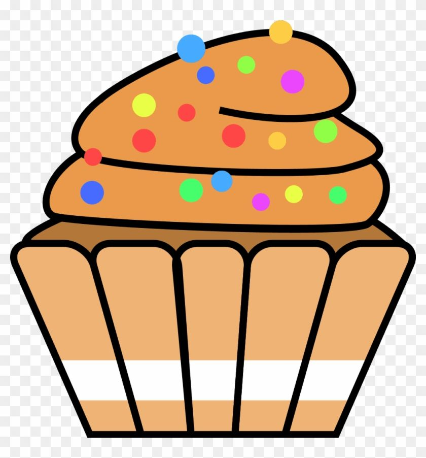Find Hd Cupcake Clipart Free Baked Goods Clipart Cute Frames Clip Art Of Sweet Food Hd Png Download To Search And Download More Free Transparent Png Clip Art