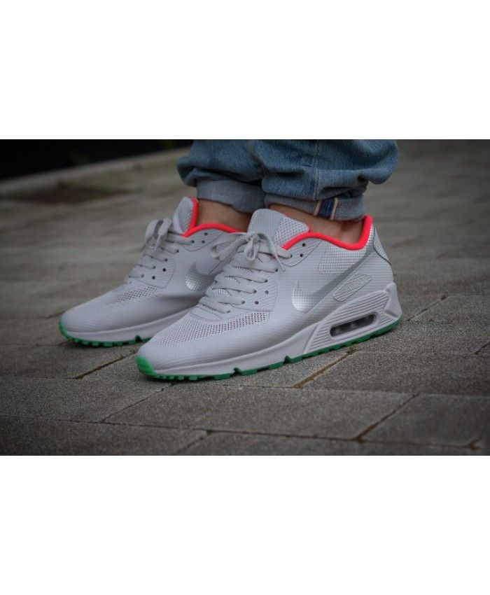 reputable site 1aa14 7dc71 Nike Air Max 90 Hyperfuse Yeezy Gris Vert