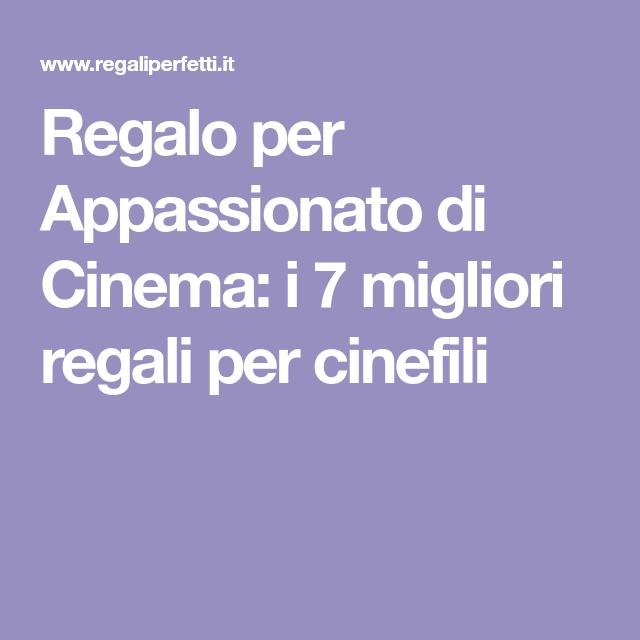 Idee Regalo Per Amante Del Cinema Regaliperfetti It Idee Regalo