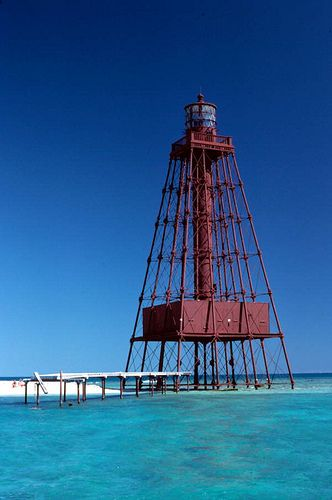 Sand Key Lighthouse, six miles southwest of Key West in 2019