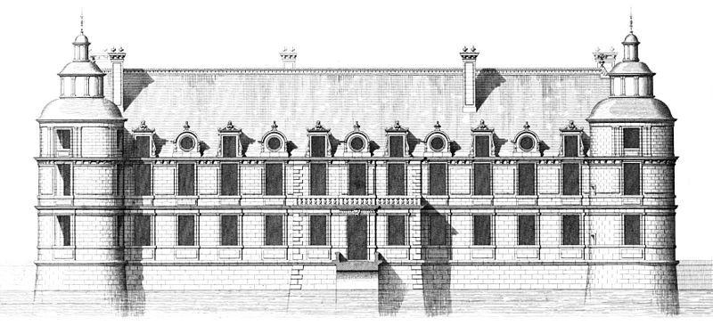 File:Chateau de Tanlay - Gartenfassade - Sauvageot.jpg