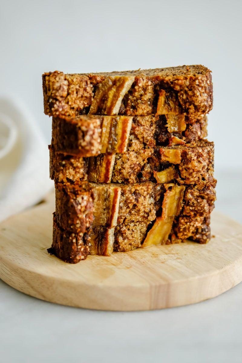 Peanut butter banana bread (vegan, glutenfree) Recipe