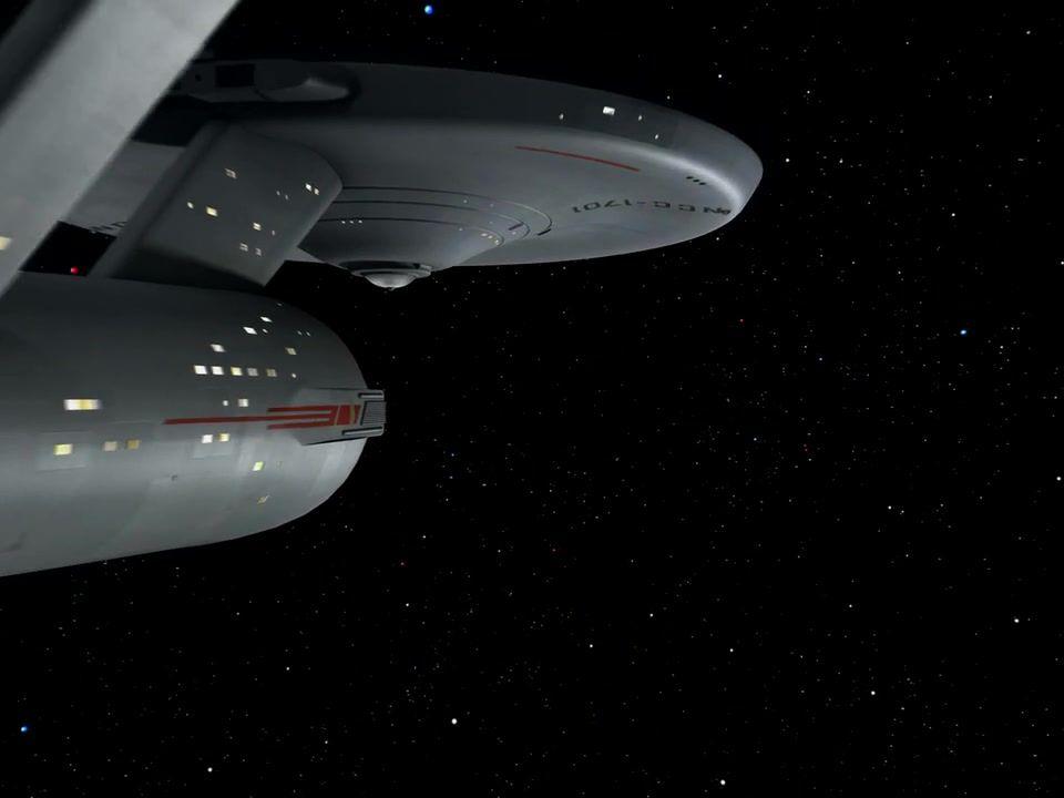 Star Trek Season 1 Episode 1 - The Man Trap (8 Sep. 1966), USS Enterprise (NCC-1701)