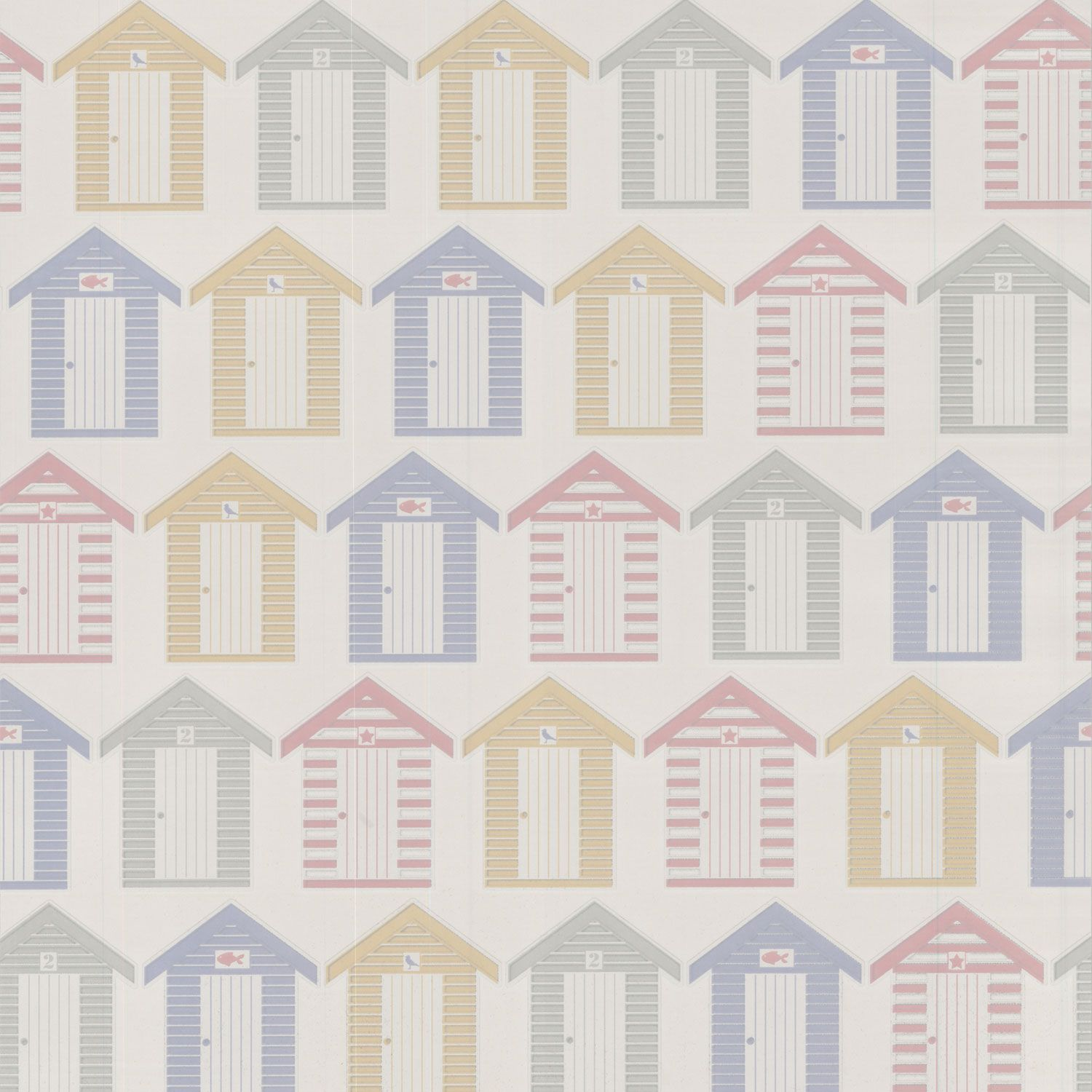 Buy the Contour AB Beside the Seaside Wallpaper at The Range