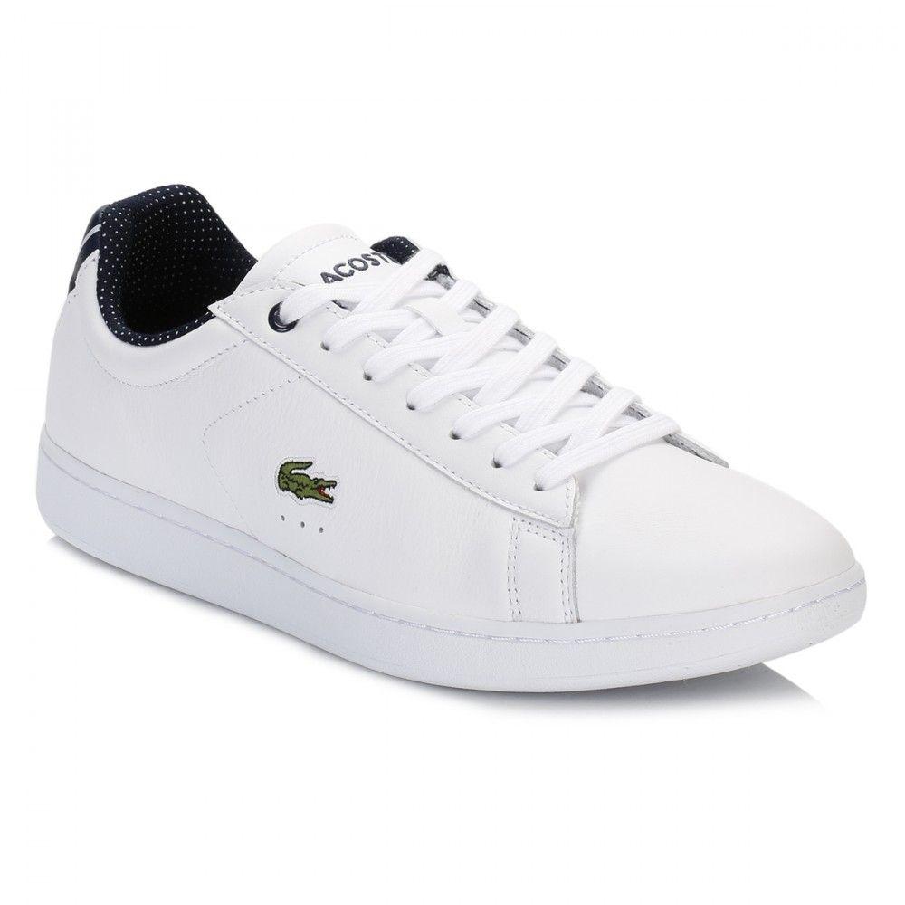 02c3eb747e0eea Lacoste Womens White Carnaby EVO 116 Trainers 7-31SPW0006001