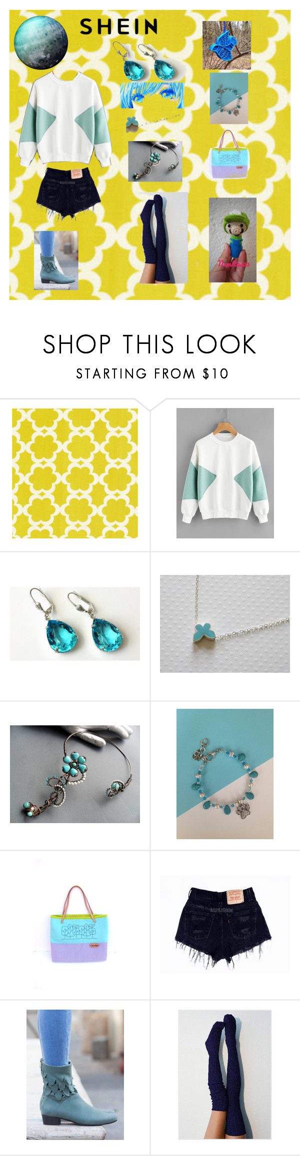 """Turquoise day"" by nanitas23 ❤ liked on Polyvore featuring Nintendo"