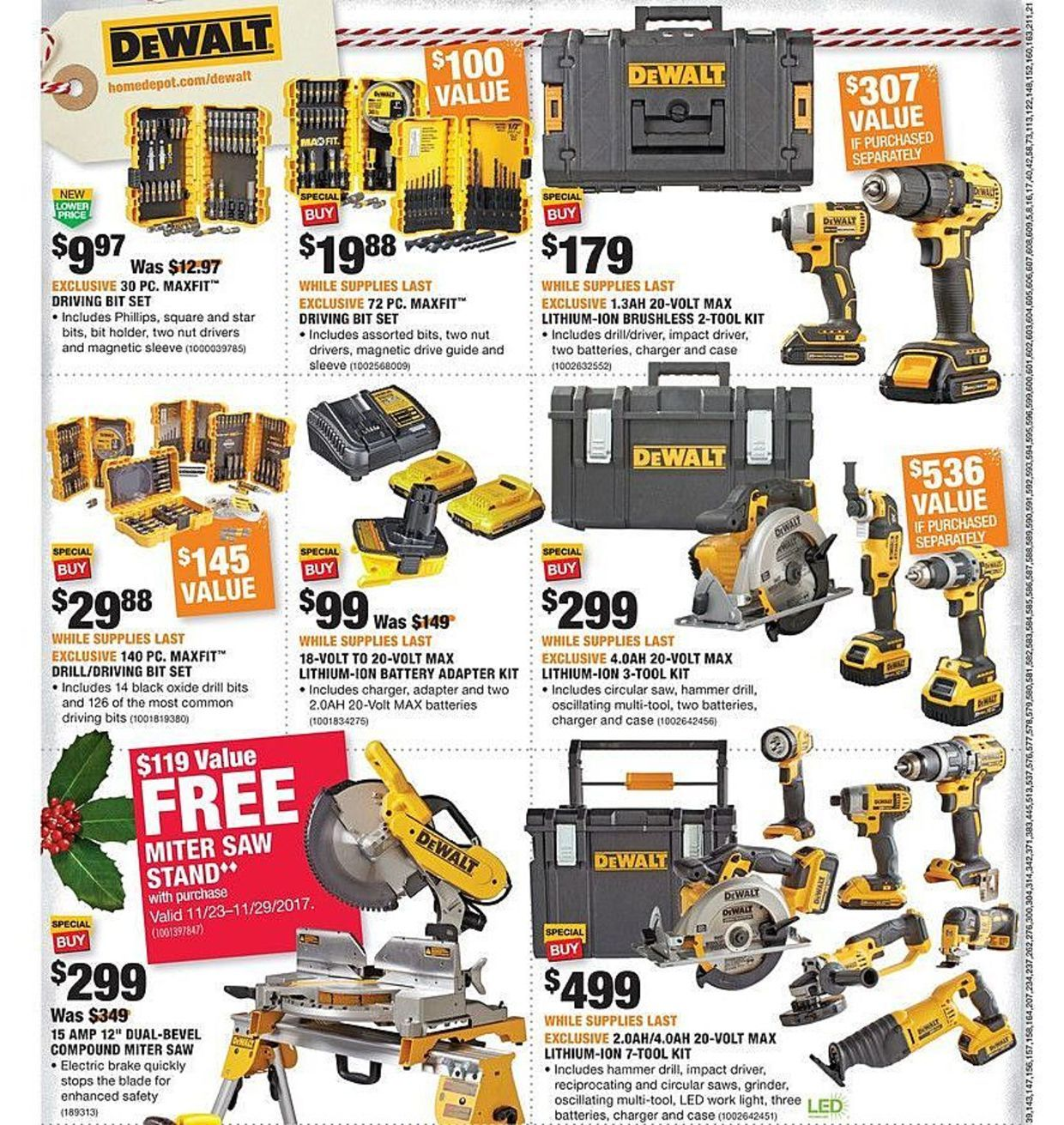 Home Depot Black Friday 2017 Ads And Deals As Usual Home Depot Is One Of The Best Black Friday Sales For Huge Discounts Home Depot Coupons Depot Black Friday