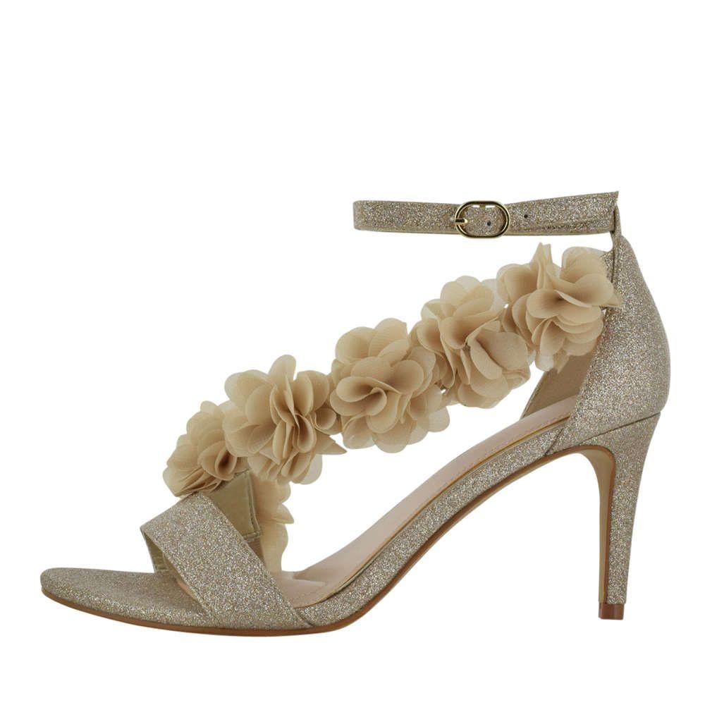 Kelly & Katie | Ros Sevasa Sandal | Low Heel Evening | Dress Shoes | Womens