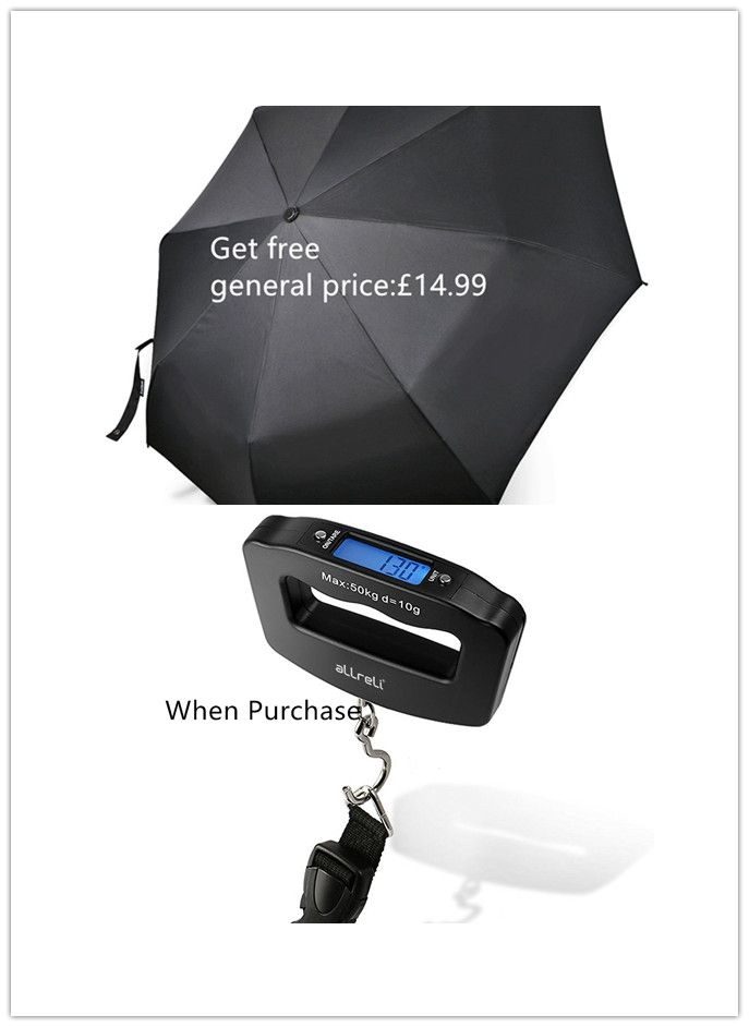 ezgoo wiring multiple outlets diagram get free collapsible travel umbrella when purchase luggage scale with strap hook lcd display and batteries 22 98 7 99 expired 05 14 2017