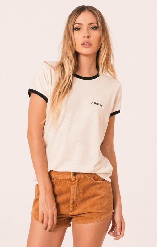 42a2c55df6 Afends Womens Hemp Tee - T-Shirt | w.e.t shirt inpso in 2019 | Tops ...