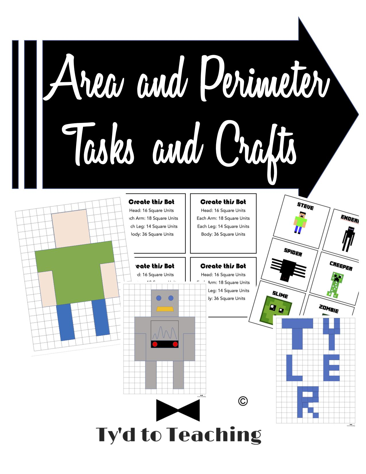Area And Perimeter Tasks And Crafts Editable