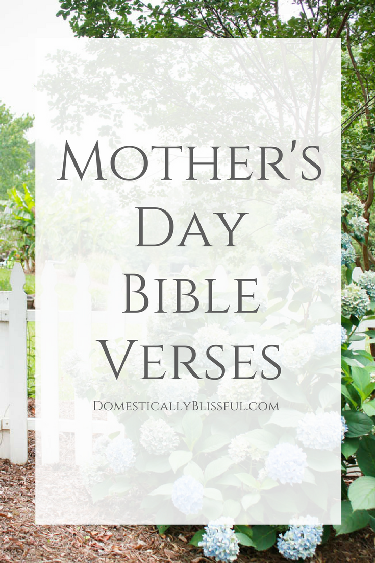 Bible Quotes For Mothers Day Cool Bible Verses About Mothers  Verses Bible And Father Design Decoration