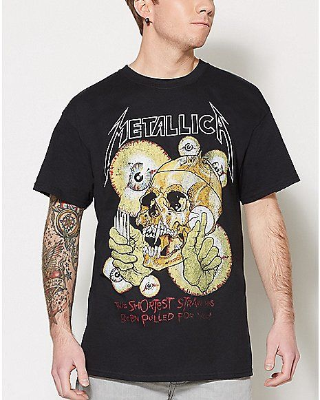 b564e8df2 Shortest Straw Metallica T Shirt - Spencer's | Graphic Tees ...