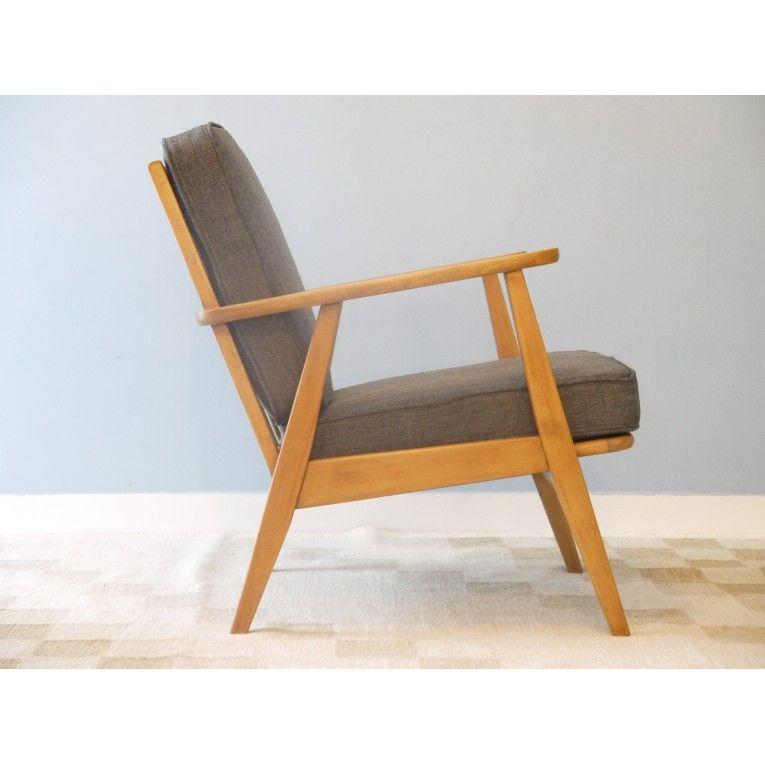 Fauteuil Retro Design.Fauteuil Vintage Design Scandinave 50 60 La Maison Retro Chair