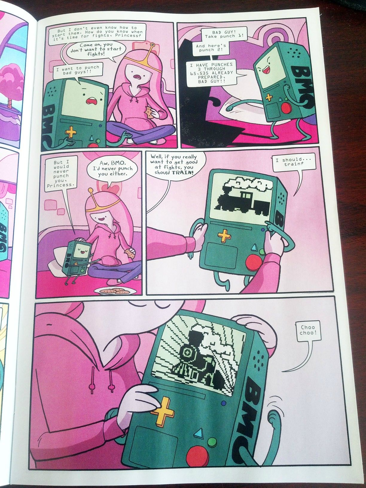 BMO and Princess Bubblegum   Adventure Time comic   Adventure Time     BMO and Princess Bubblegum   Adventure Time comic