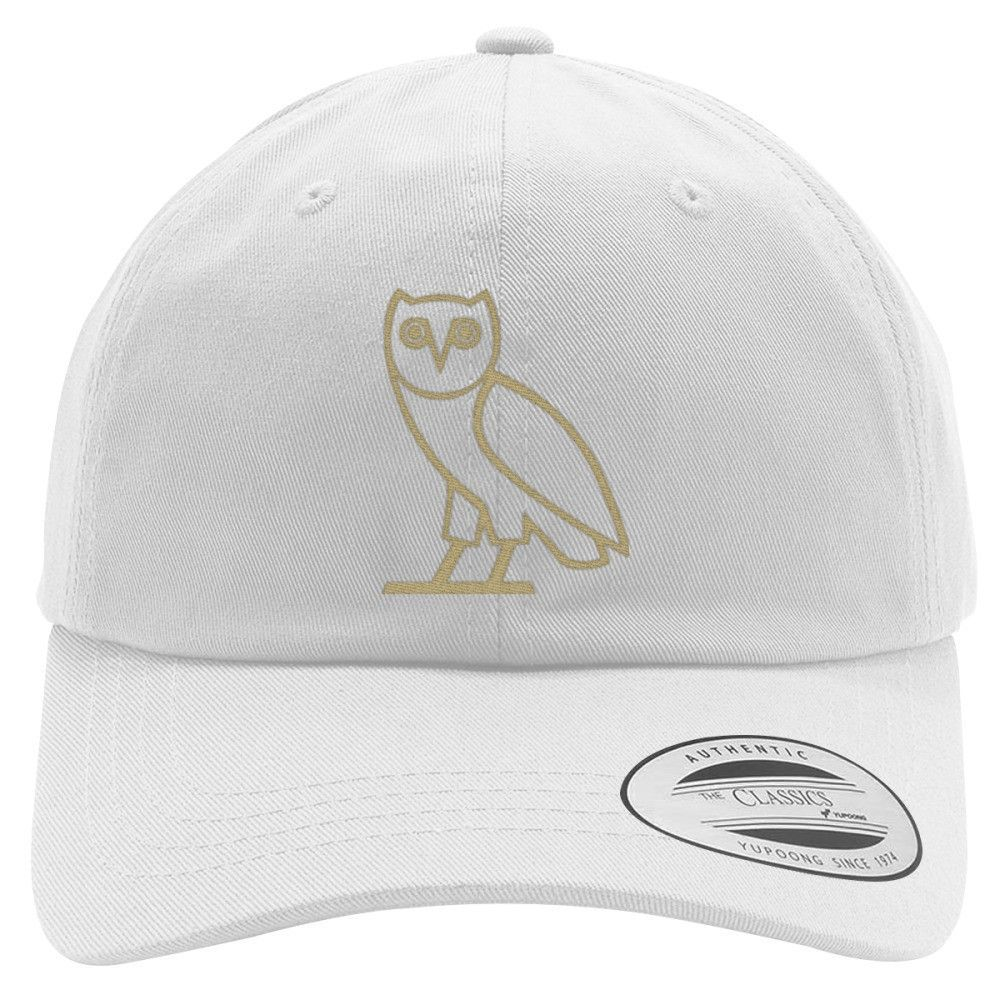Drake Owl Embroidered Cotton Twill Hat