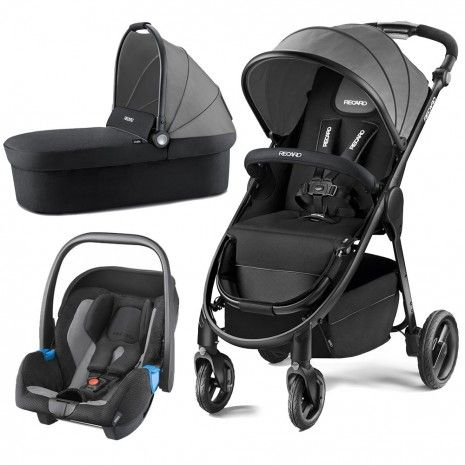 Black BRAND NEW IN BOX Recaro Citylife City Life Carrycot Carry Cot