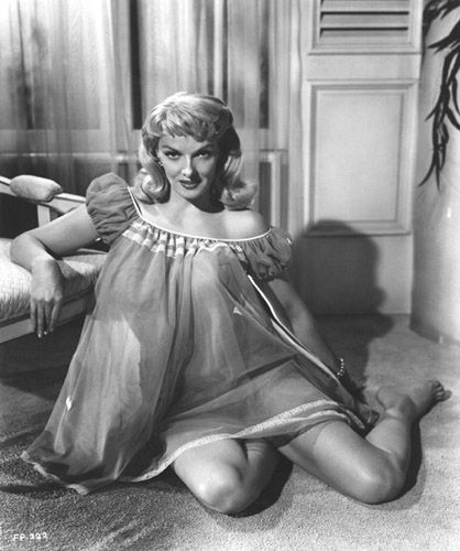 1bbb9e3bd7 THE FUZZY PINK NIGHTGOWN (1957) - Jane Russell - Columbia Pictures - Publicity  Still.